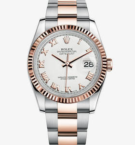 Replica Rolex Datejust Watch : everose Rolesor - Kombinasjonen av 904L stål og 18 ct everose gull - M116231 - 0092