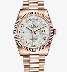 Replica Rolex Day -Date Watch : 18 ct everose gull - M118235F - 0026