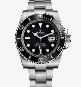 Replica Rolex Submariner Date Watch : 904L stål - M116610LN -0001